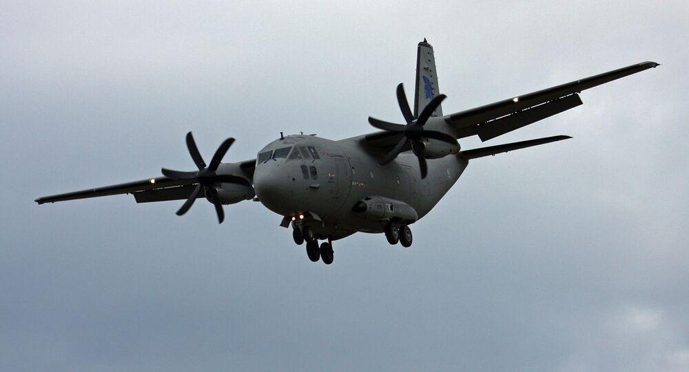 Aeronave de carga G222 (imagem referencial)