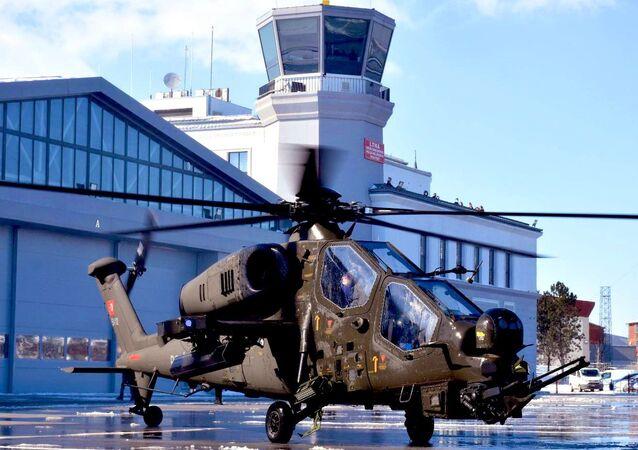 Helicóptero turco ATAK (foto de aquivo)