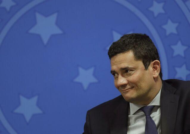 Ex-juiz e ex-ministro da Justiça Sergio Moro