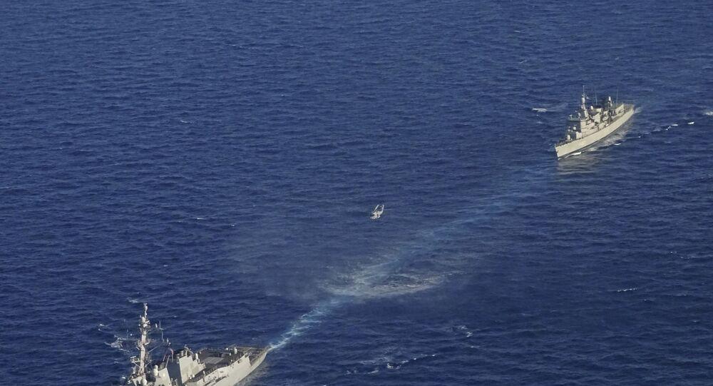 Exercícios militares entre Grécia e EUA no Mediterrâneo