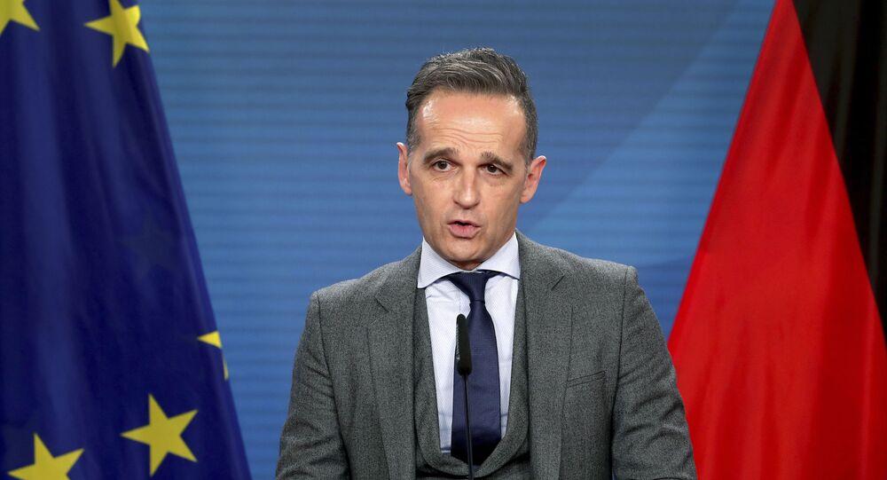 Ministro das Relações Exteriores alemão Heiko Maas