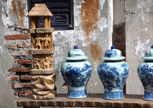 Porcelana chinesa (imagem referencial)
