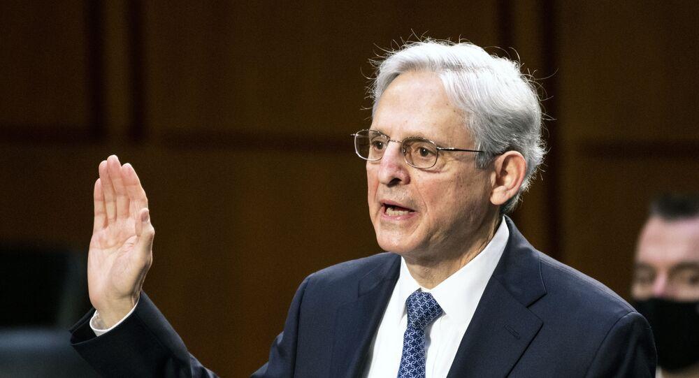 O novo procurador-geral dos EUA Merrick Garland