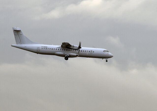 Avião ATR 72 (imagem referencial)