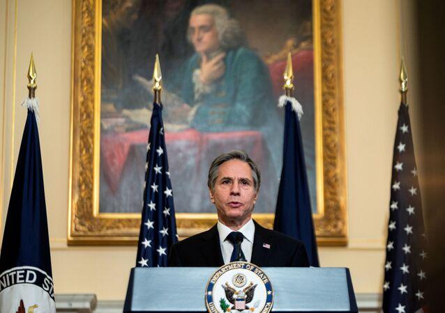 Secretário de Estado Antony Blinken, 3 de março de 2021