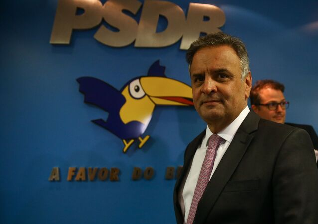O deputado federal Aécio Neves (PSDB-MG).