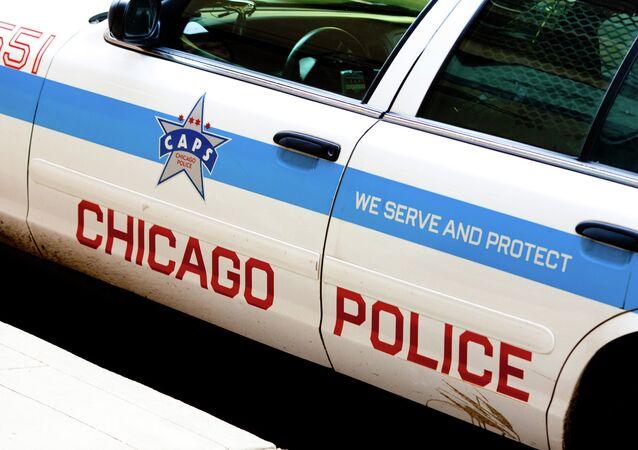 Veículo da Polícia de Chicago, cidade do estado norte-americano de Illinois (arquivo)