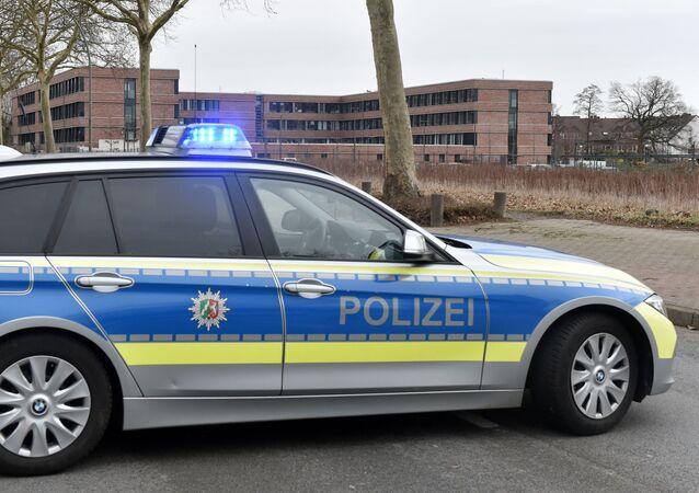 Viatura da polícia alemã
