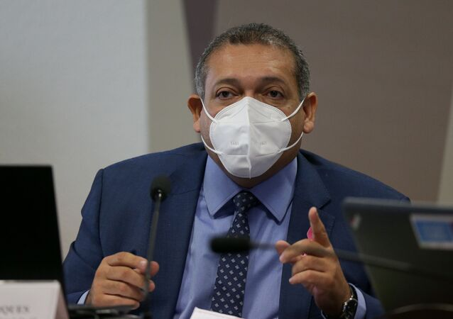 O ministro do STF (Supremo Tribunal Federal), Kassio Nunes Marques.