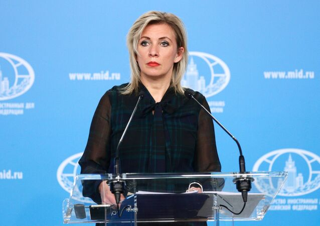 Briefing da representante oficial do Ministério das Relações Exteriores da Rússia, Maria Zakharova, em Moscou