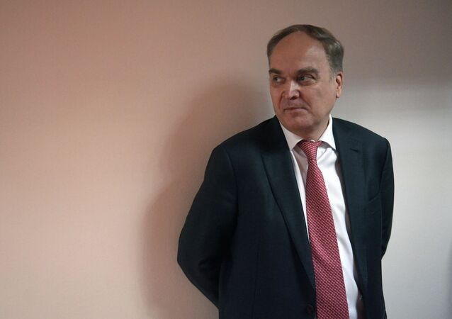 O embaixador da Rússia nos Estados Unidos Anatoly Antonov