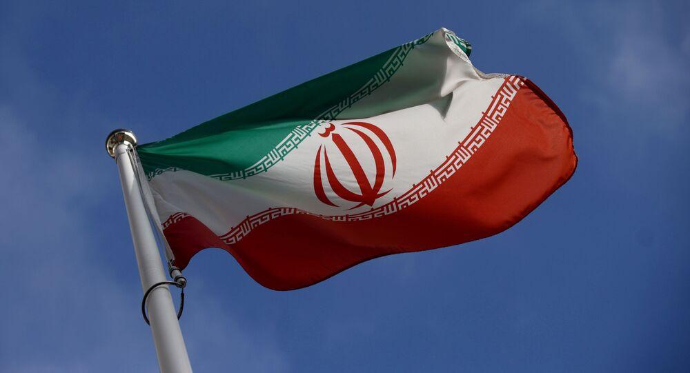 Bandeira do Irã (imagem referencial)