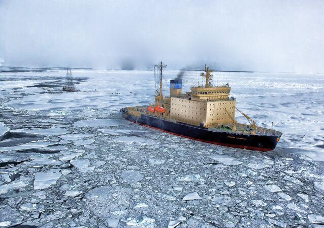Ártico (imagem referencial)