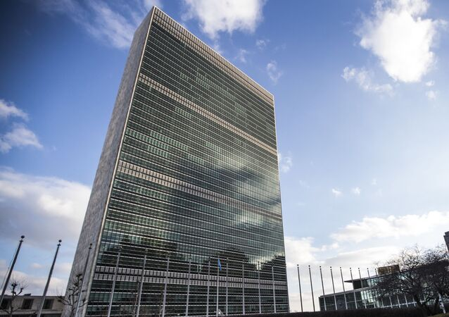 Sede das Nações Unidas (ONU) em Nova York.