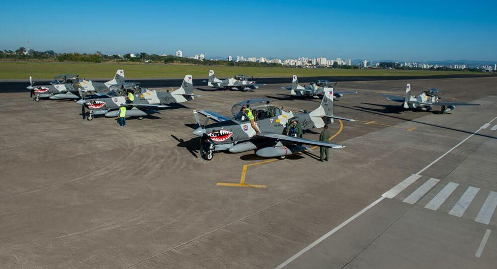 Embraer entrega seis A-29 Super Tucano para a Força Aérea das Filipinas