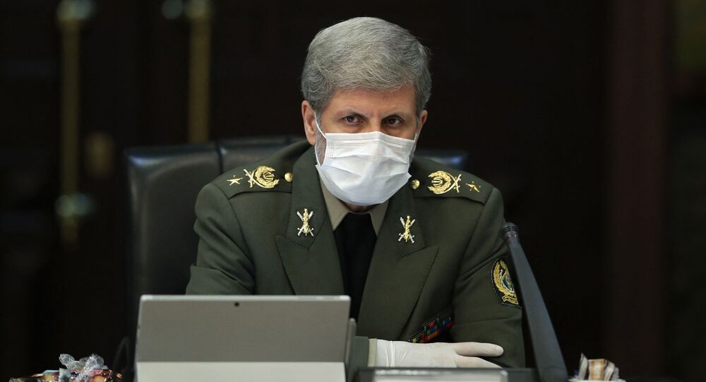 Ministro da Defesa, Amir Hatami, 11 de março de 2020