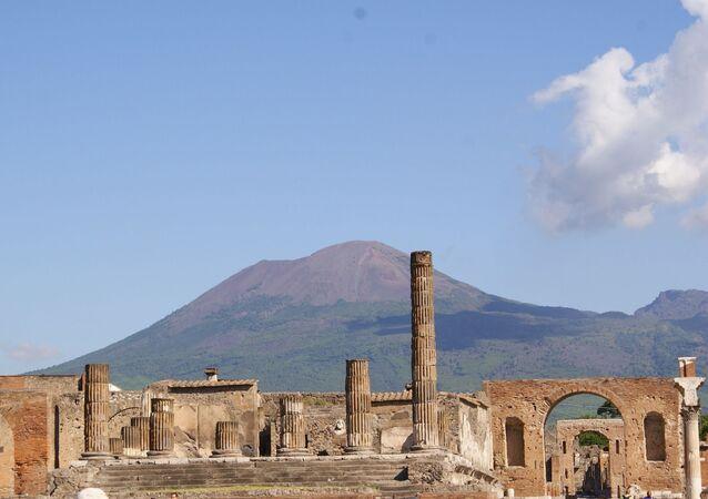 Ruinas de Pompeia, Itália