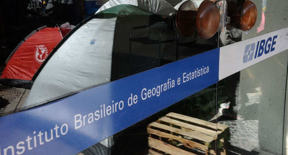Sede do IBGE na cidade do Rio de Janeiro.