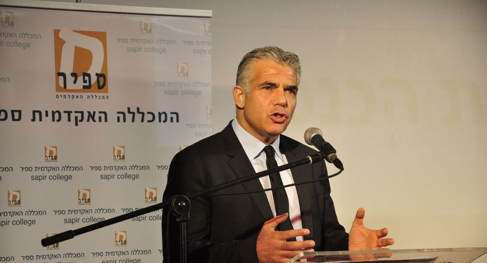 Yair Lapid, líder do partido israelense Yesh Atid