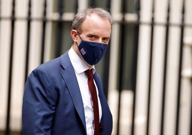 Ministro das Relações Exteriores do Reino Unido, Dominic Raab