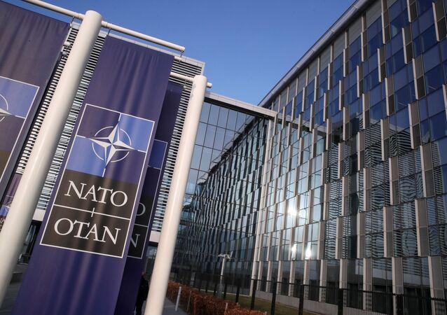 Prédio da OTAN em Bruxelas, na Bélgica