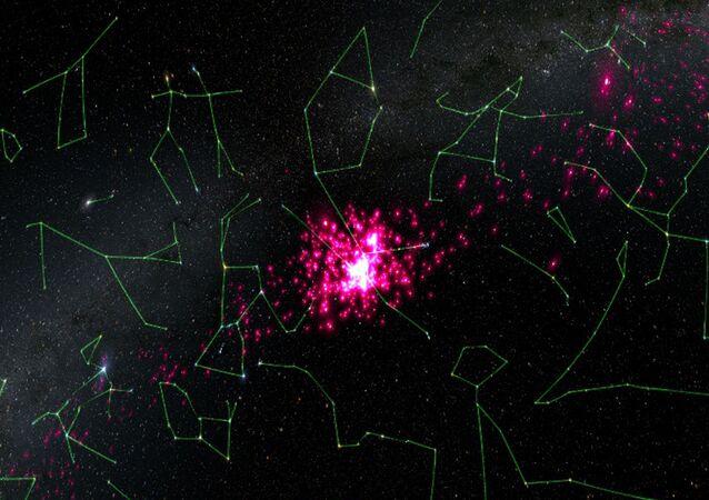 Aglomerado estelar Híades mapeado pela missão espacial Gaia