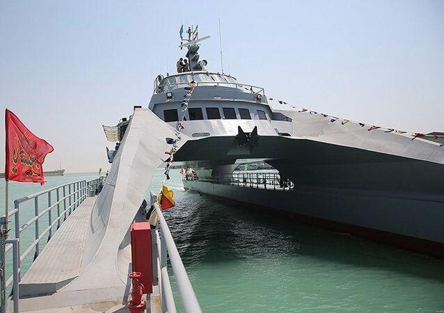 IRIS Shahid Nazeri, embarcação que está em serviço no IRGC