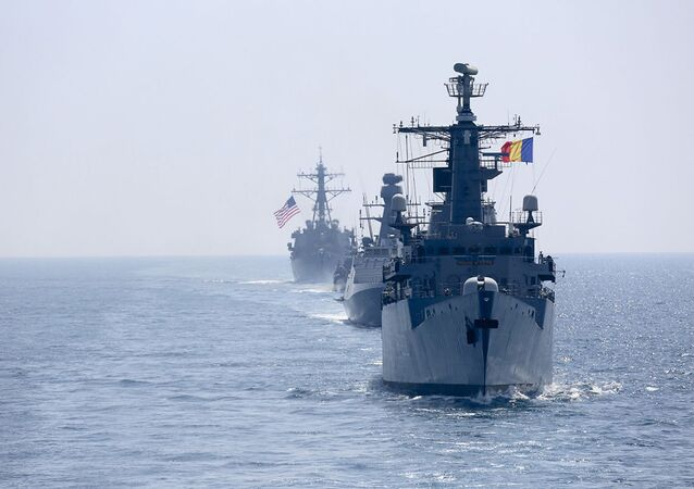 Navios da OTAN no mar Negro