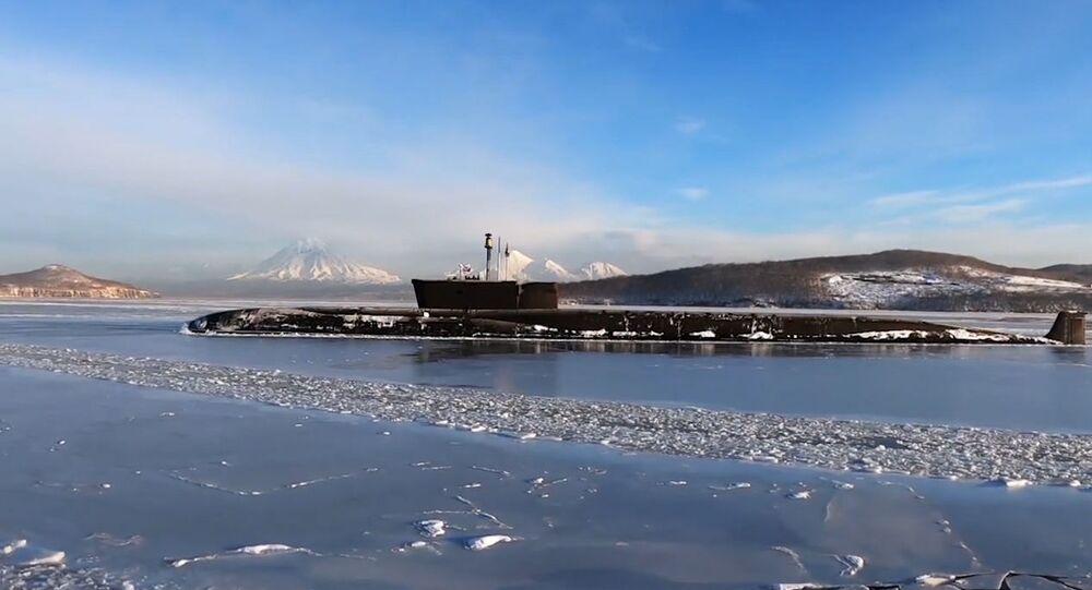 Submarino nuclear russo Vladimir Monomakh