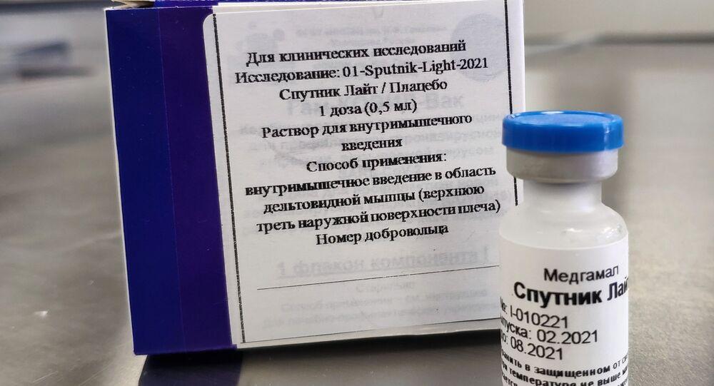 Vacina russa contra coronavírus Sputnik Light