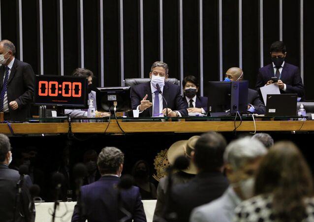 Presidente da Câmara dos Deputados, Arthur Lira (PP-AL)
