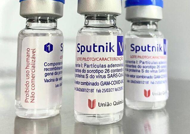 Vacina Sputnik V produzida no Brasil, pela União Química