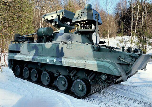 Sistema de controle de defesa antiaérea Magistr-SV