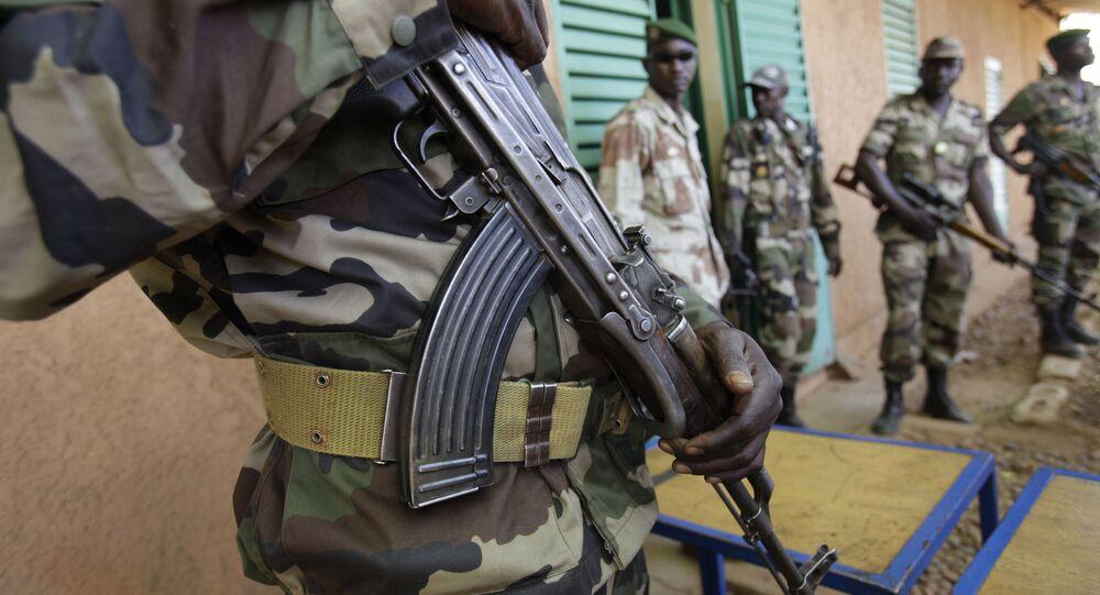 Soldados das Forças Armadas do Níger