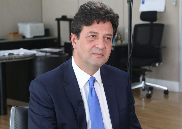 O ex-ministro da Saúde Luiz Henrique Mandetta liderou o manifesto em conjunto assinado também por Ciro Gomes, João Amoedo, João Doria e Luciano Huck