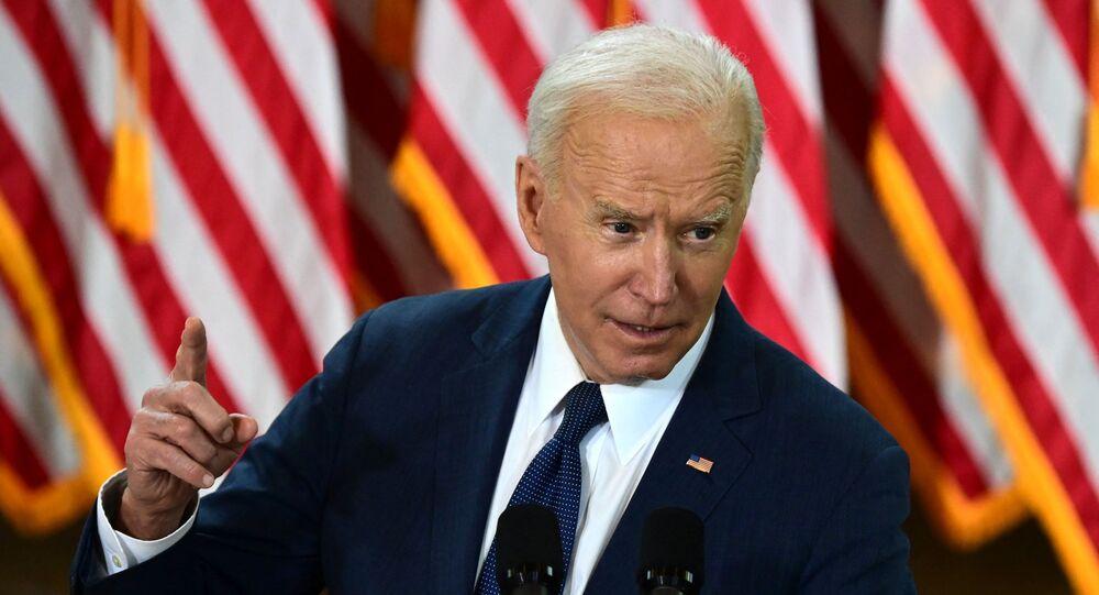 Presidente dos EUA, Joe Biden discursa em Pittsburgh, onde revelou megapacote de US$ 2 trilhões (R$ 11,3 trilhões) em infraestrutura para modernização dos EUA