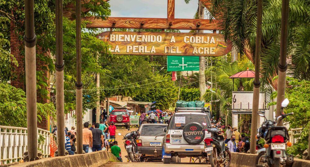 Na manhã de quarta-feira (31) bolivianos fecharam a fronteira que liga o Brasil a Bolívia, devido o aumento do preço da carne brasileira no país
