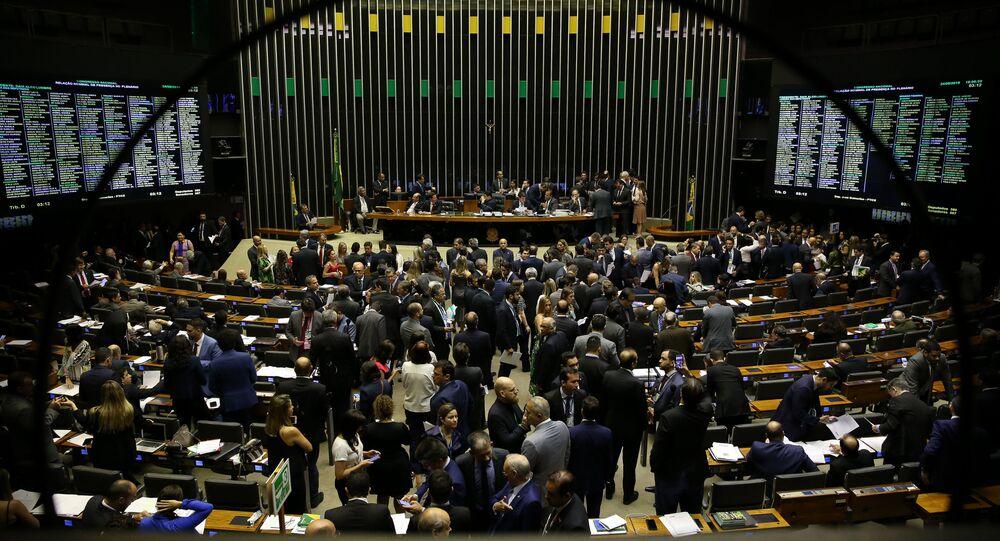 Plenário do Senado Federal em 24 de setembro de 2019
