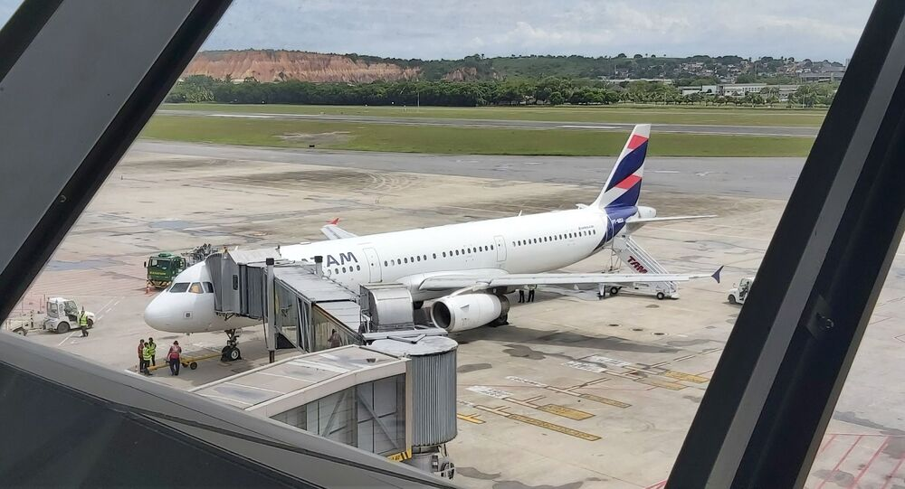 Movimentação no Aeroporto Internacional dos Guararapes, em Recife, no dia 18 de março de 2021