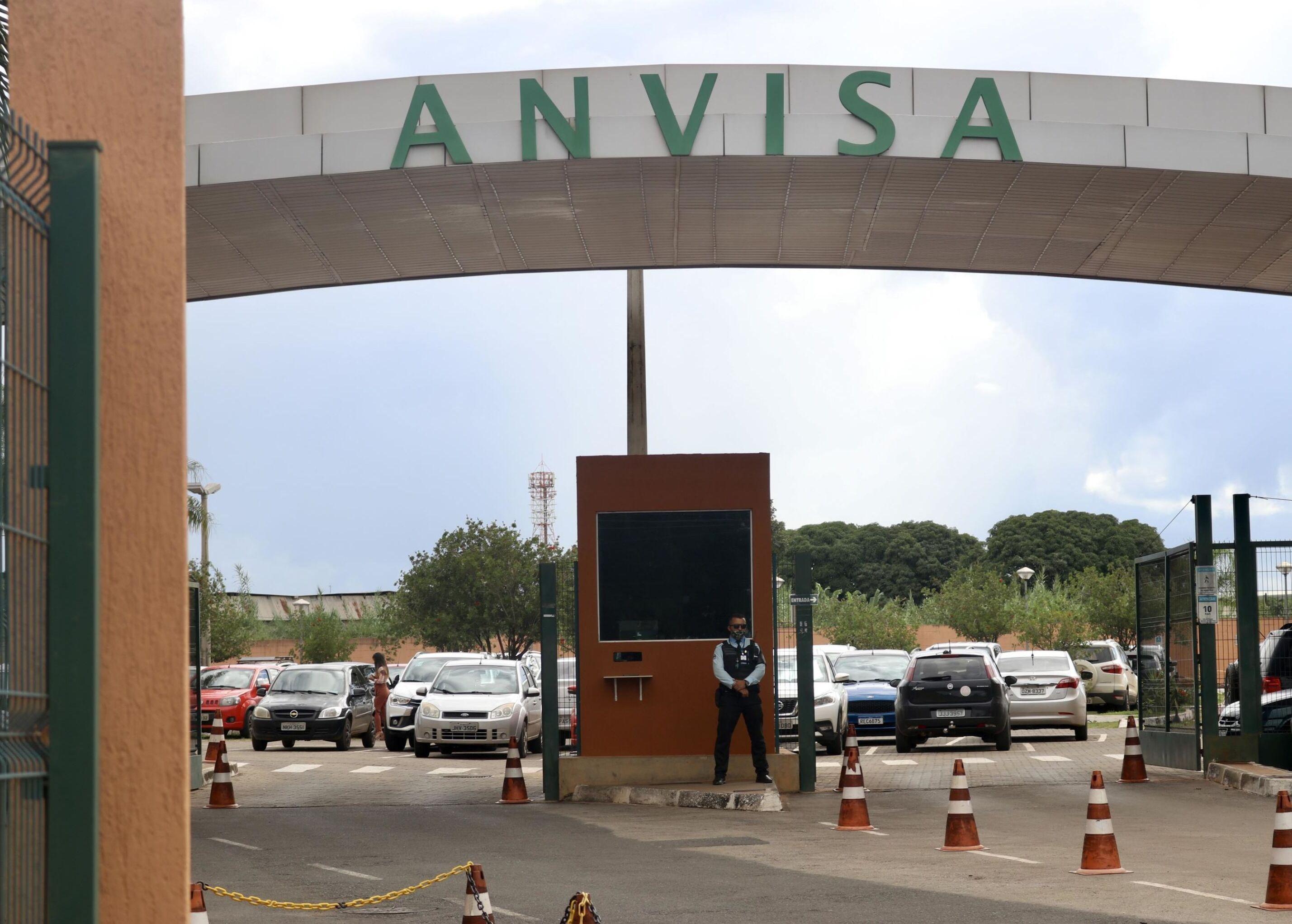 Fachada do edifício da Agência Nacional de Vigilância Sanitária (Anvisa) em Brasília.