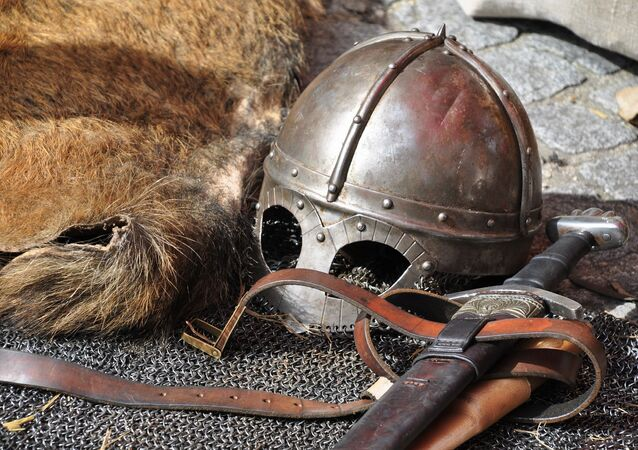 Guerreiro nórdico (imagem referencial)