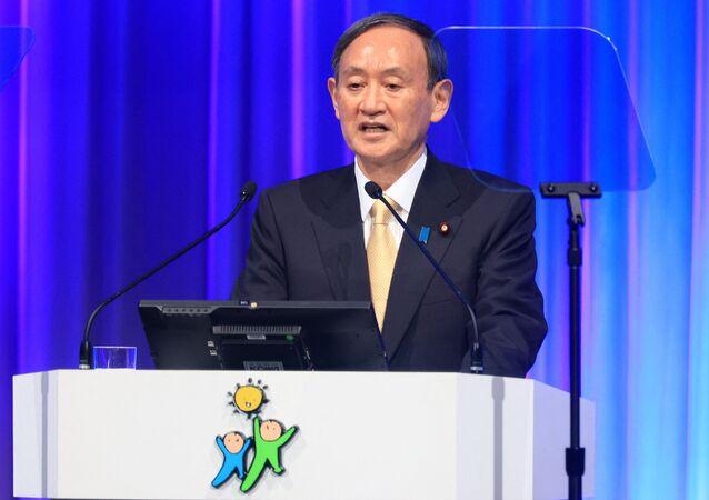 Primeiro-ministro do Japão Yoshihide Suga