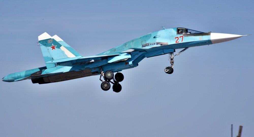 Caça-bombardeiro russo Su-34