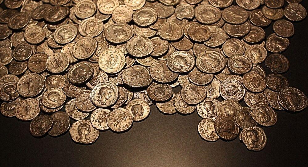 Moedas romanas (imagem referencial)
