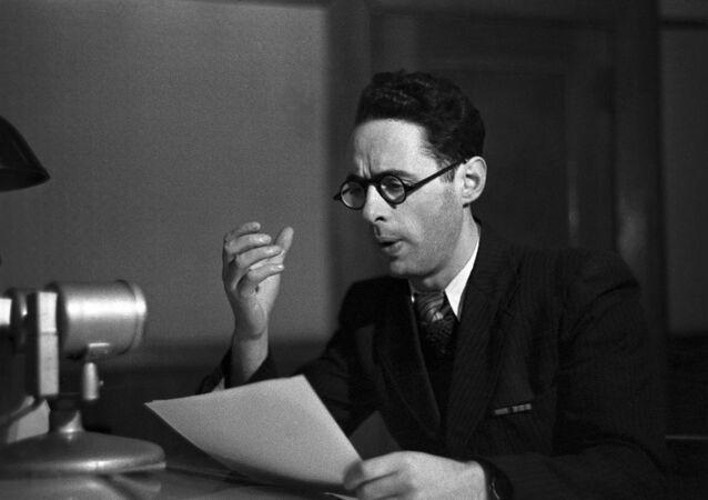 Yury Levitan, locutor da Rádio Moscou da União Soviética