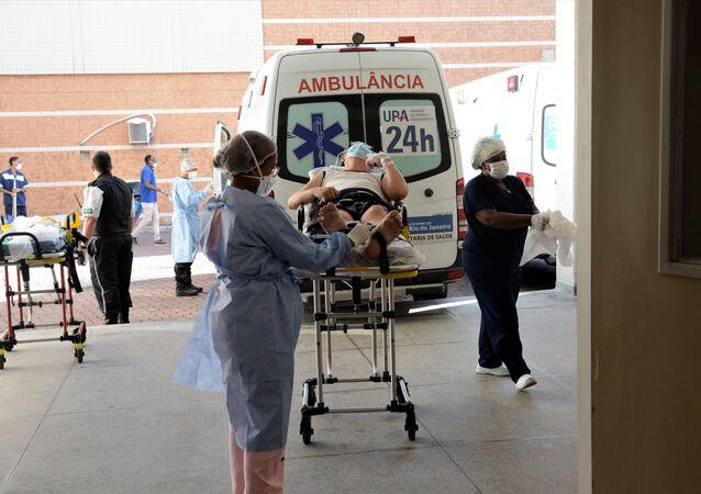 Hospital Municipal Ronaldo Gazolla, referência no atendimento a pacientes com COVID-19 no Rio de Janeiro