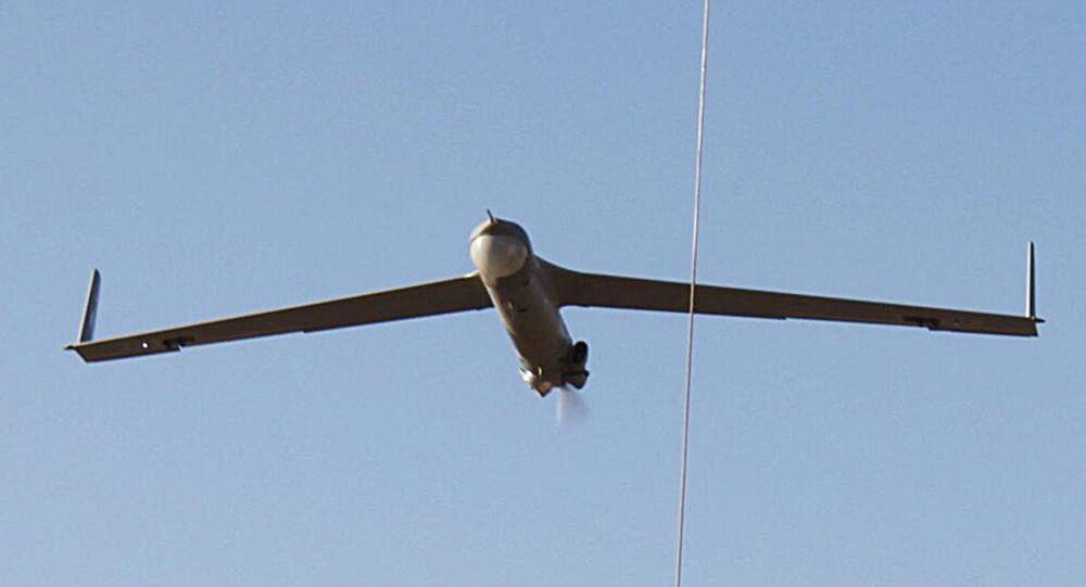 Drone de reconhecimento ScanEagle