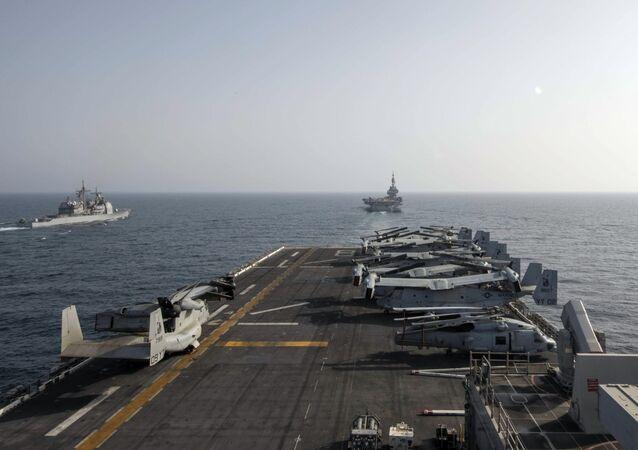 Navio de assalto anfíbio USS Makin Island
