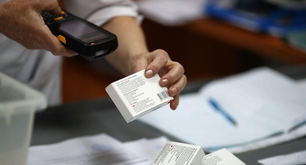 Produção da vacina EpiVacCorona do Centro Vektor, na cidade russa de Volgogrado (foto de arquivo)
