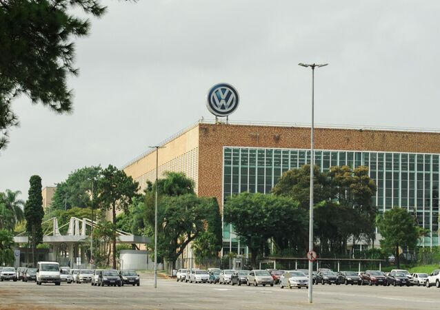 Planta da montadora Volkswagen, no município de São Bernardo do Campo (SP), no dia 20 de março de 2021